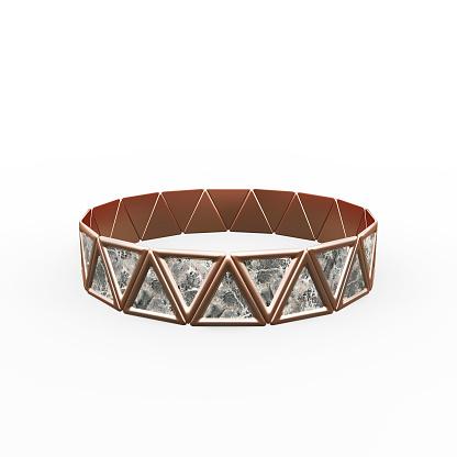 1149145638 istock photo Bracelet Triangles design 1149145631