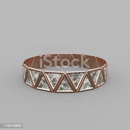 1149145638istockphoto Bracelet Triangles design 1149145632