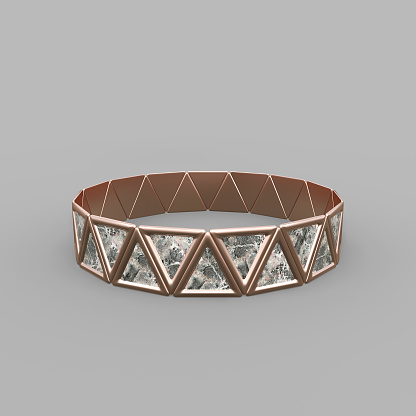 1149145638 istock photo Bracelet Triangles design 1149145632