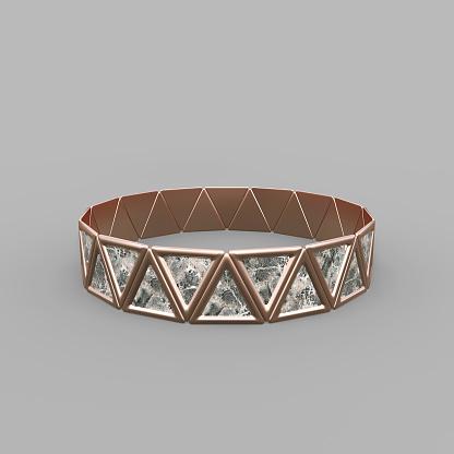 istock Bracelet Triangles design 1149145632