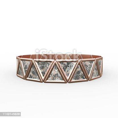 1149145638istockphoto Bracelet Triangles design 1149145638