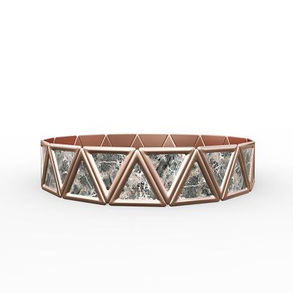 1149145638 istock photo Bracelet Triangles design 1149145638