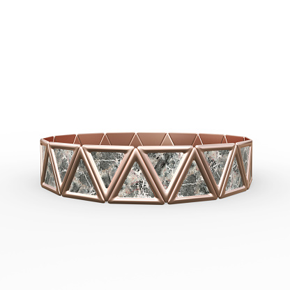 istock Bracelet Triangles design 1149145638