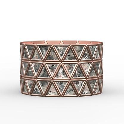 istock Bracelet Triangles design 1149145642