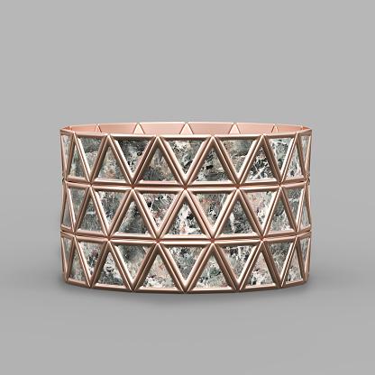 1149145638 istock photo Bracelet Triangles design 1149145644