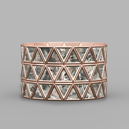 istock Bracelet Triangles design 1149145644