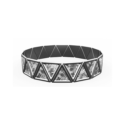 istock Bracelet Triangles design 1149145702