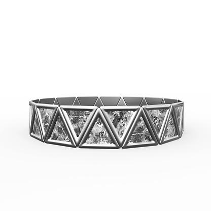 istock Bracelet Triangles design 1149145705