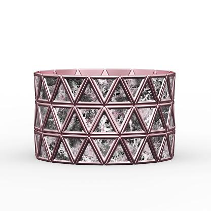 istock Bracelet Triangles design 1149145711