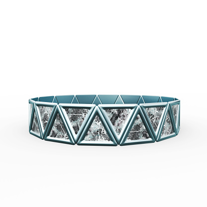 istock Bracelet Triangles design 1149145717