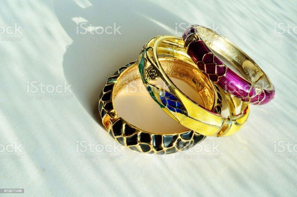 bracelets stock photo