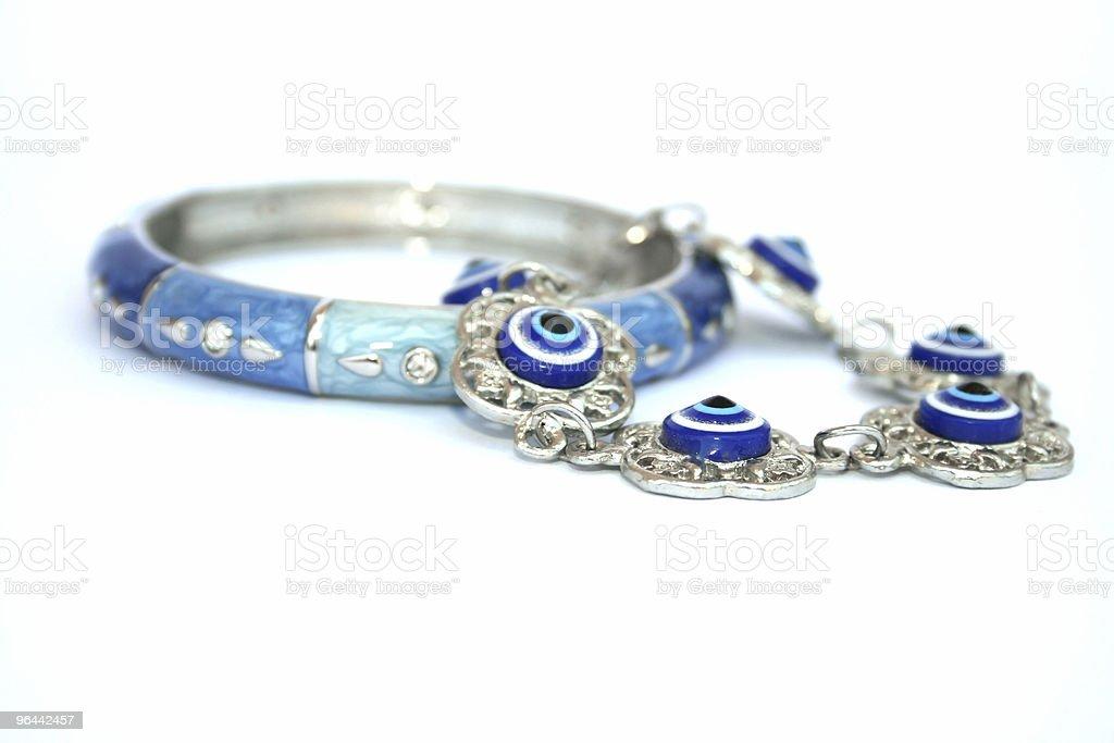 Bracelets - Royalty-free Blue Stock Photo