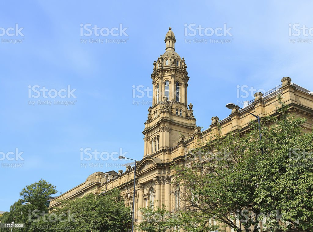 Bradford College stock photo