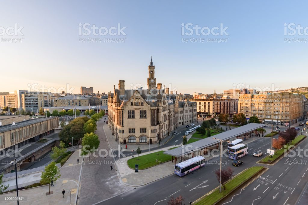 Bradford Skyline stock photo