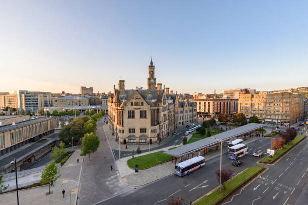 Bradford Skyline stock photo