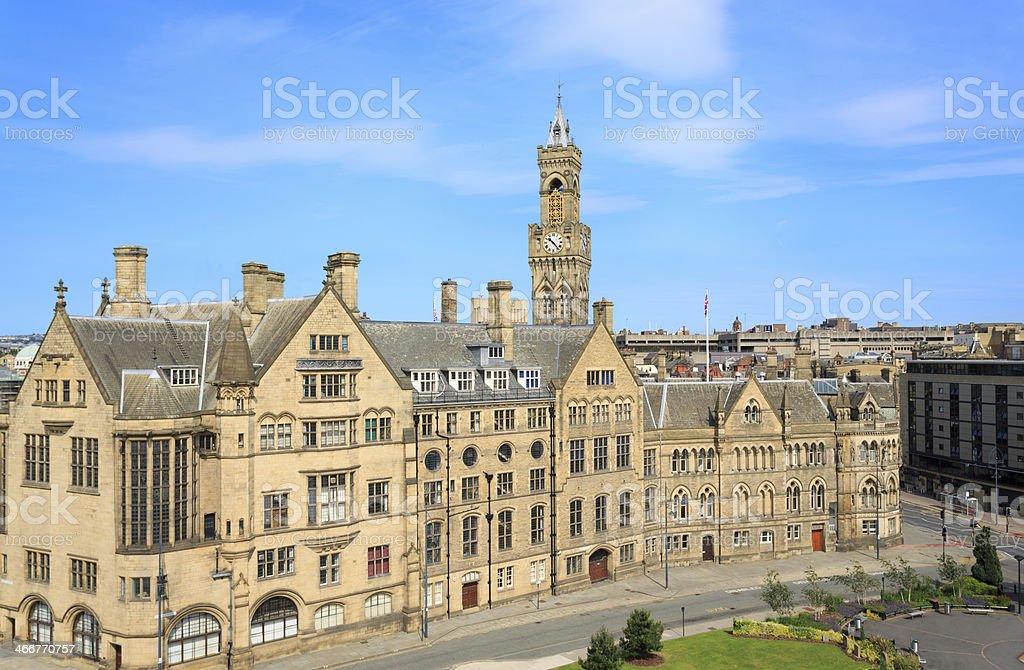Bradford Town Hall royalty-free stock photo