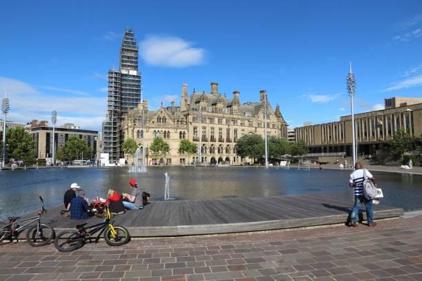 Bradford UK stock photo