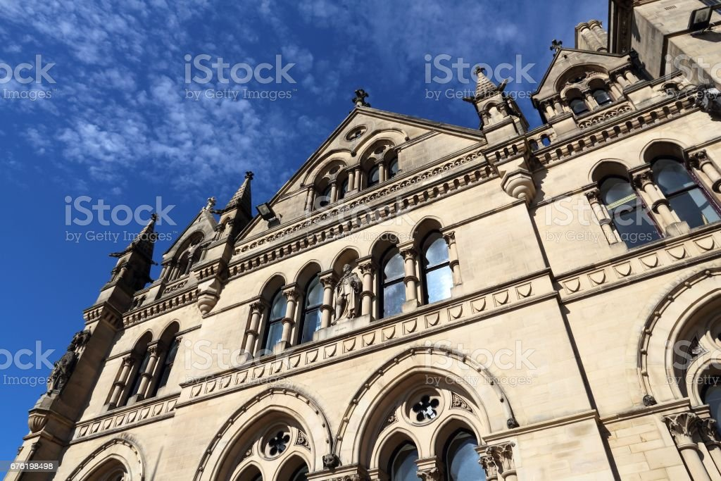 Bradford UK stock photo