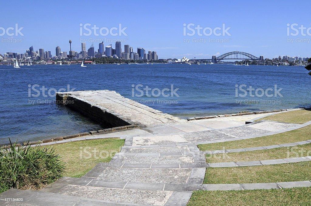 Bradleys Head, Sydney stock photo