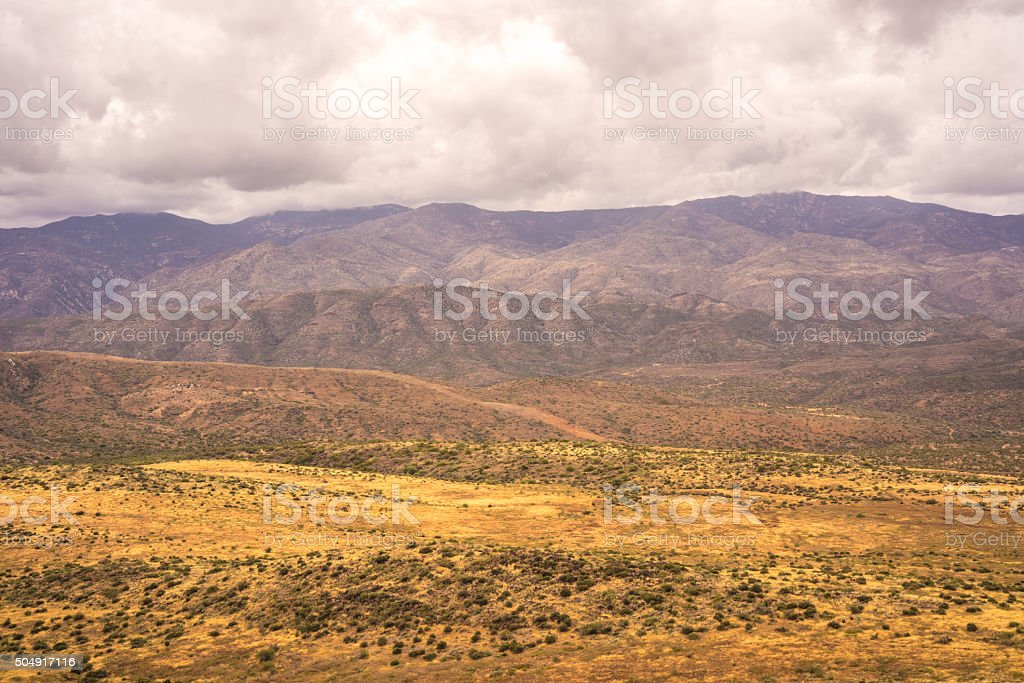 Bradshaw Mountains Landscape stock photo