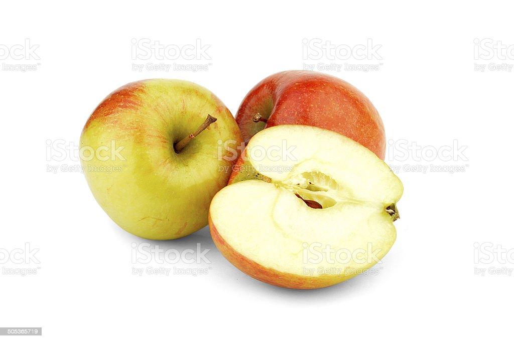 Braeburn Apple - Stock Image stock photo