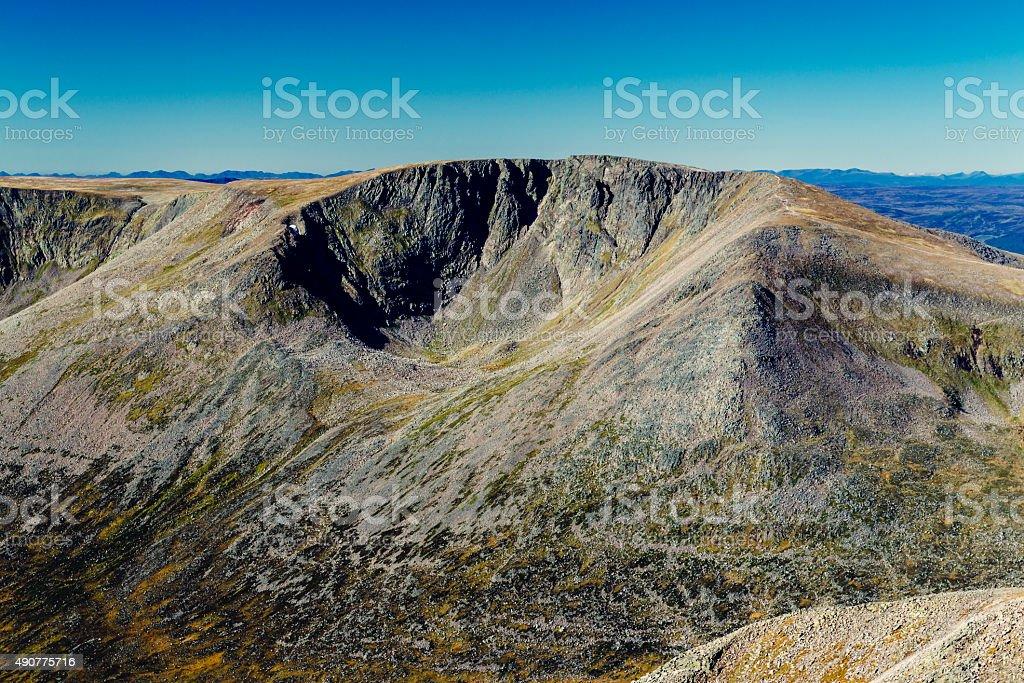 Braeriach Mountain, Scotland stock photo