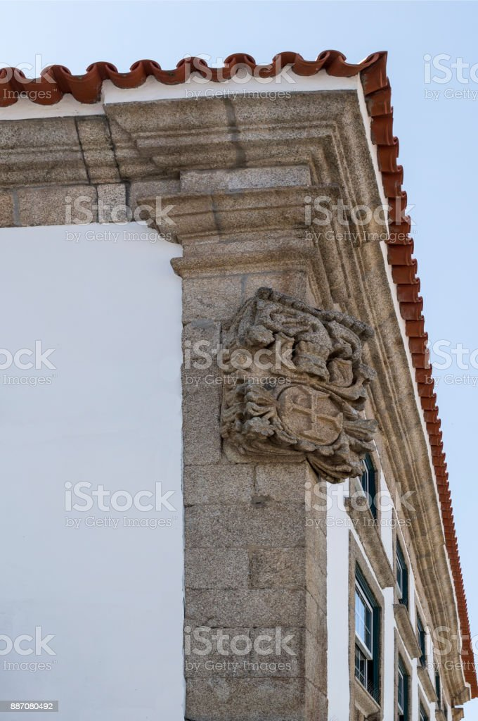 Braganca Coat of Arms stock photo
