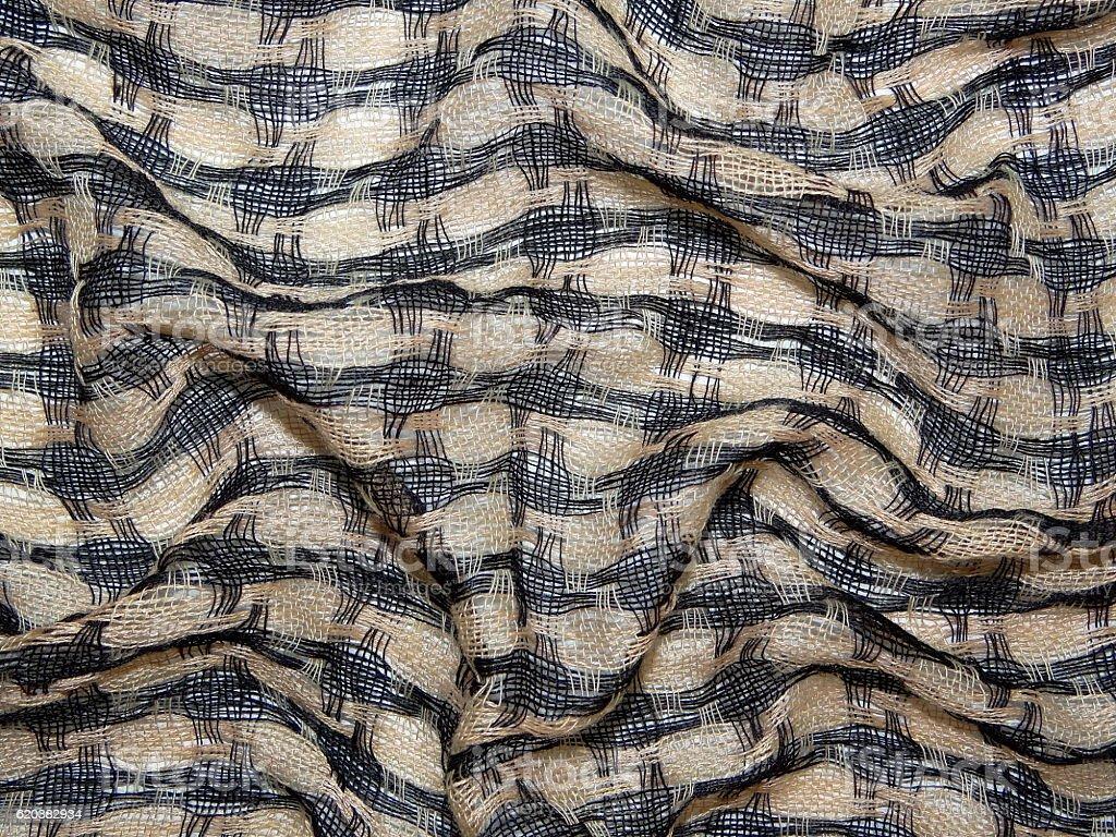 braided fabric stock photo