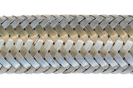 Braided Metal Hose Stock Photo - Download Image Now