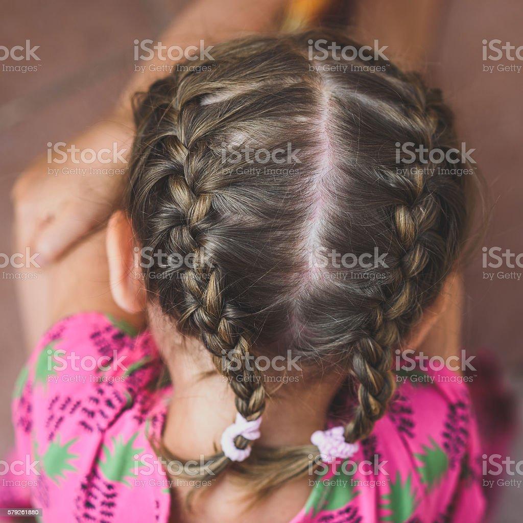 Marvelous Braids On Little Girls Head Stock Photo Download Image Now Istock Schematic Wiring Diagrams Phreekkolirunnerswayorg