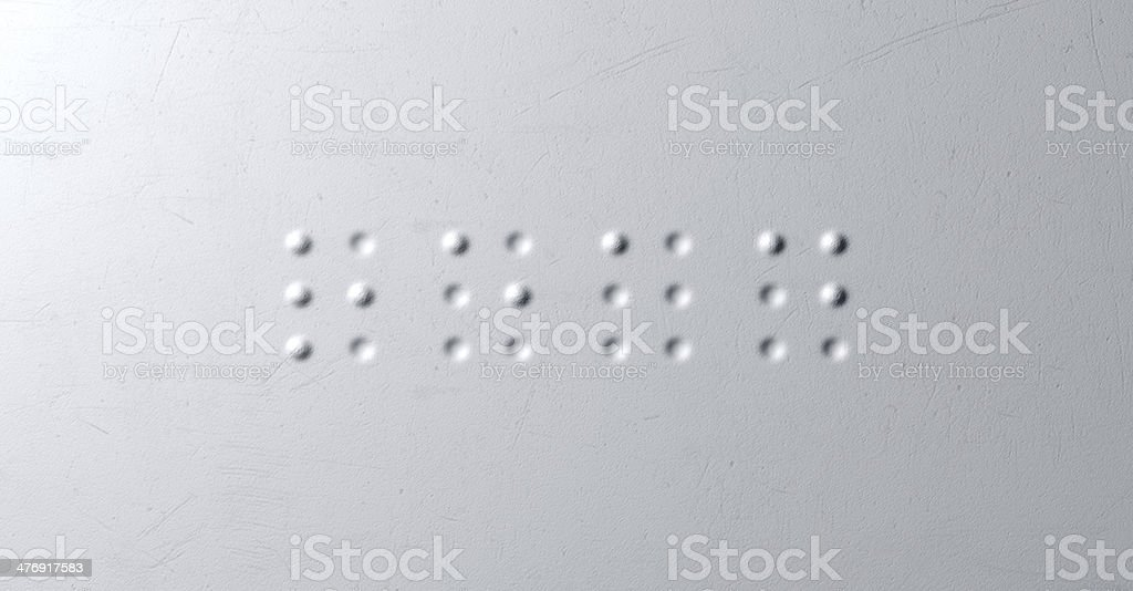 Braille Concept Read foto