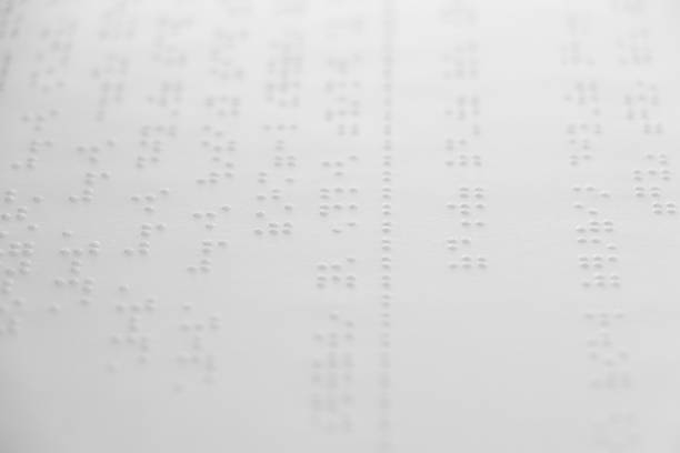 Braille is the font for the blind, invented by Louis Braille. The French blind teacher is a small convex dot in a six-point box, which is arranged alternately into code. Braille is the font for the blind, invented by Louis Braille. The French blind teacher is a small convex dot in a six-point box, which is arranged alternately into code. alternately stock pictures, royalty-free photos & images