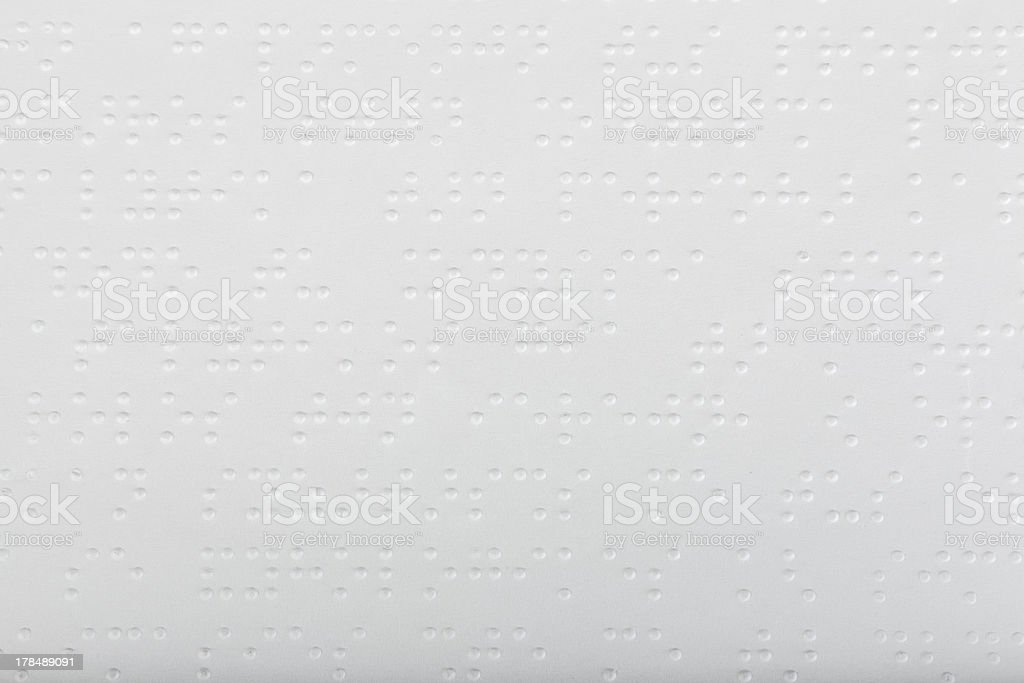 Braille language​​​ foto