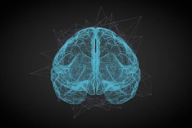 Gehirn, künstliche Intelligenz-Konzept – Foto