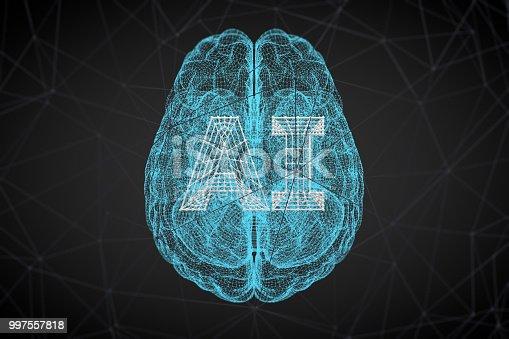 istock Brain, Artificial Intelligence Concept 997557818