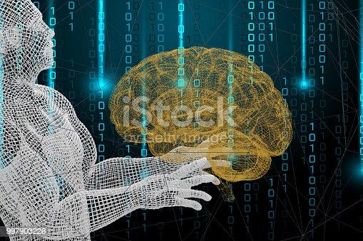 istock Brain, Artificial Intelligence Concept 997903226