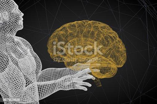 istock Brain, Artificial Intelligence Concept 997903606