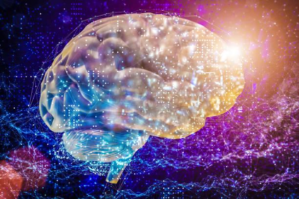 KI Gehirn künstliche neuronale Netzwerke – Foto