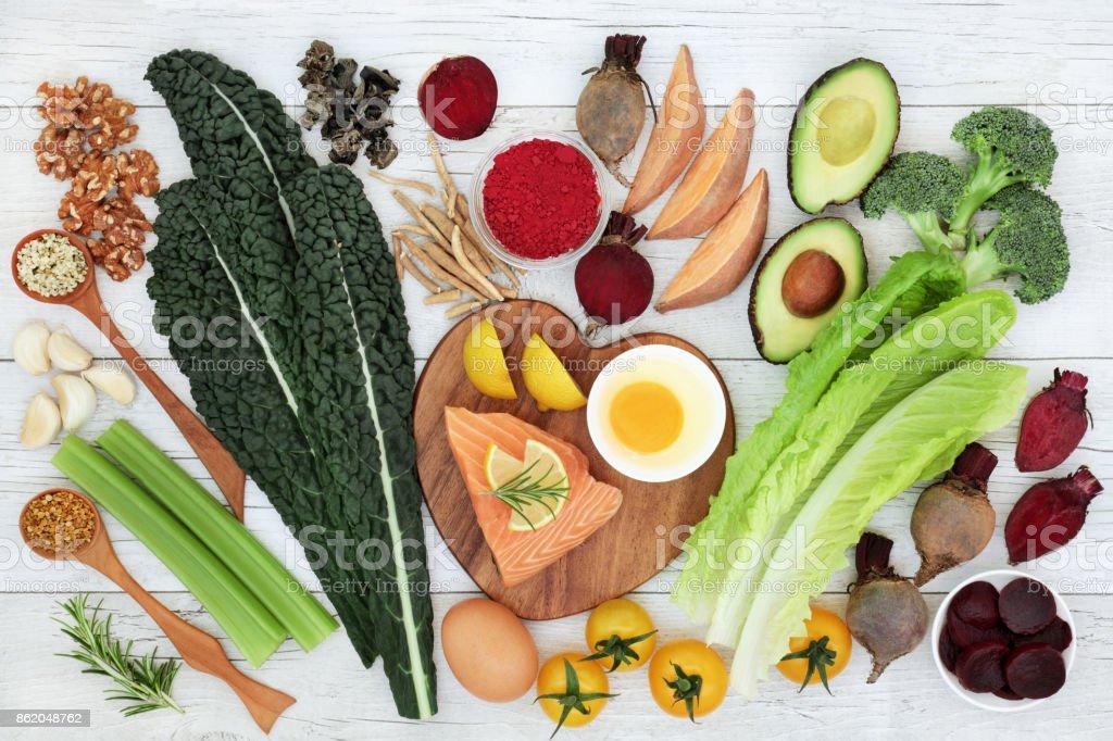 Brain Boosting Super Food stock photo