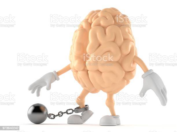 Brain character with prison ball picture id973640242?b=1&k=6&m=973640242&s=612x612&h=b1k2tokjjxfpxpxqjvot b69j dlvji3w0etm7h8rkq=