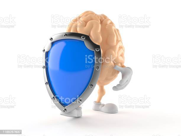 Brain character with protective shield picture id1155257637?b=1&k=6&m=1155257637&s=612x612&h=dragpzud7e2n6rl fkwtpssxhkggozis5cwmtgr3wmg=