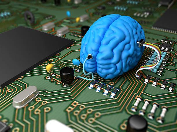 Gehirn chip – Foto