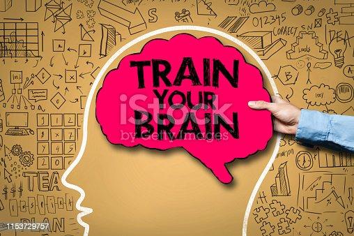 TRAIN YOUR BRAIN / Brain concept (Click for more)