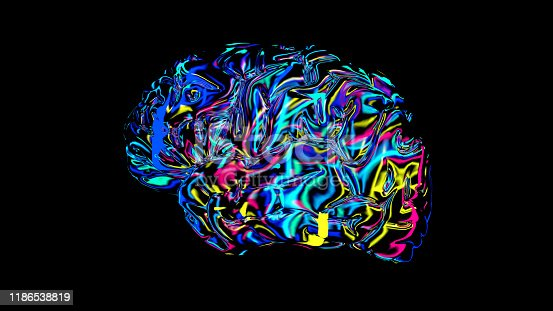 692684668istockphoto brain connections colorful, x-ray brain 1186538819