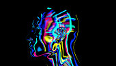 istock brain connections colorful, x-ray brain 1186541194