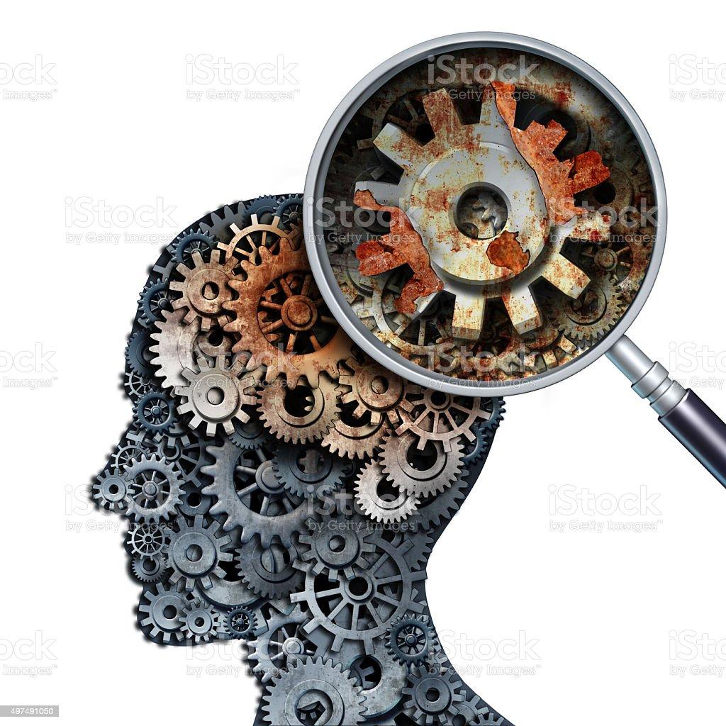 Brain Decline stock photo