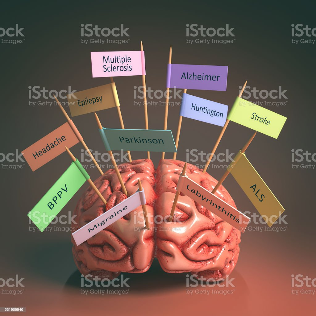 Brain Diseases stok fotoğrafı
