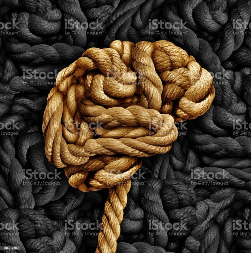 Trastorno cerebral - Foto de stock de Anudar libre de derechos