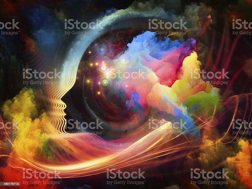 Brain Fog stock photo