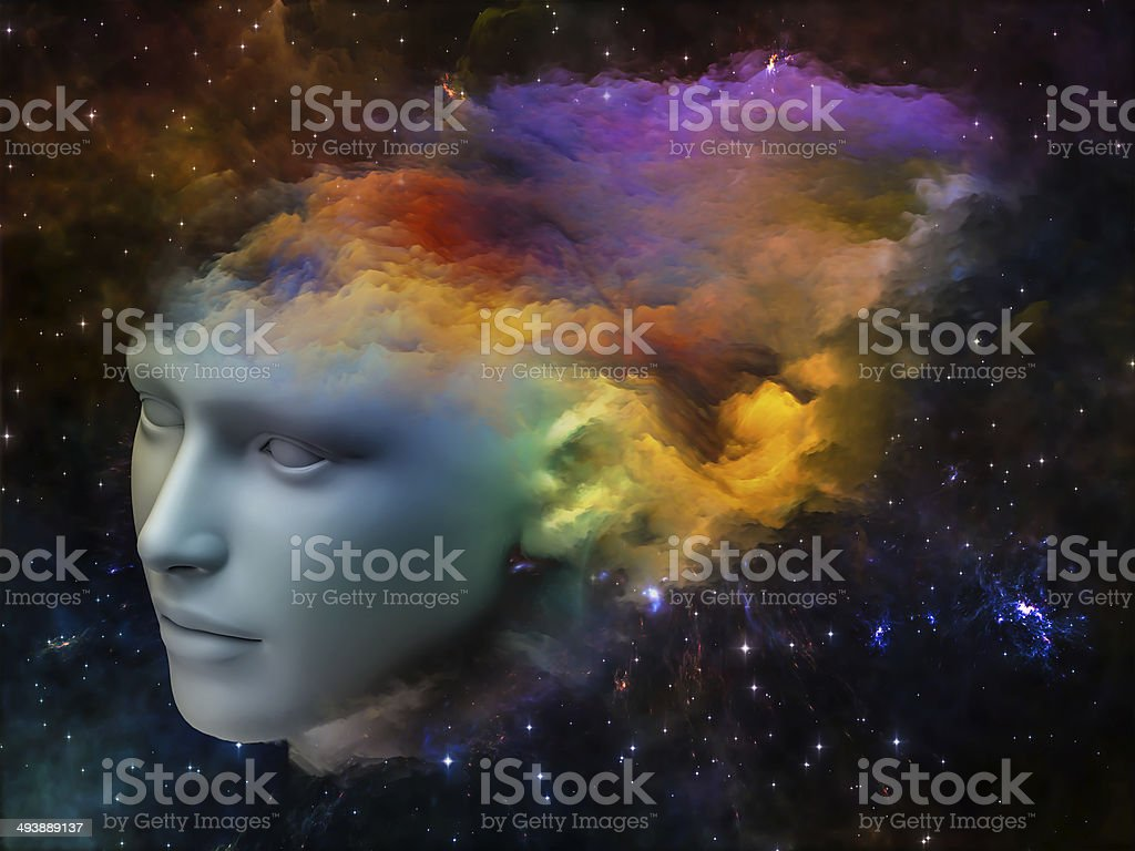 Brain Fog stock photo